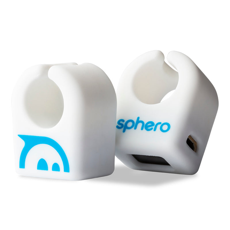 2 white rings with Sphero logo.