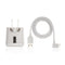 White littleBits USB Power Adapter + Cable.