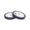Black littleBits wheel 2-pack.