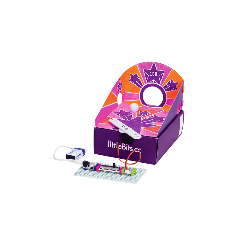 littleBits arcade game invention.