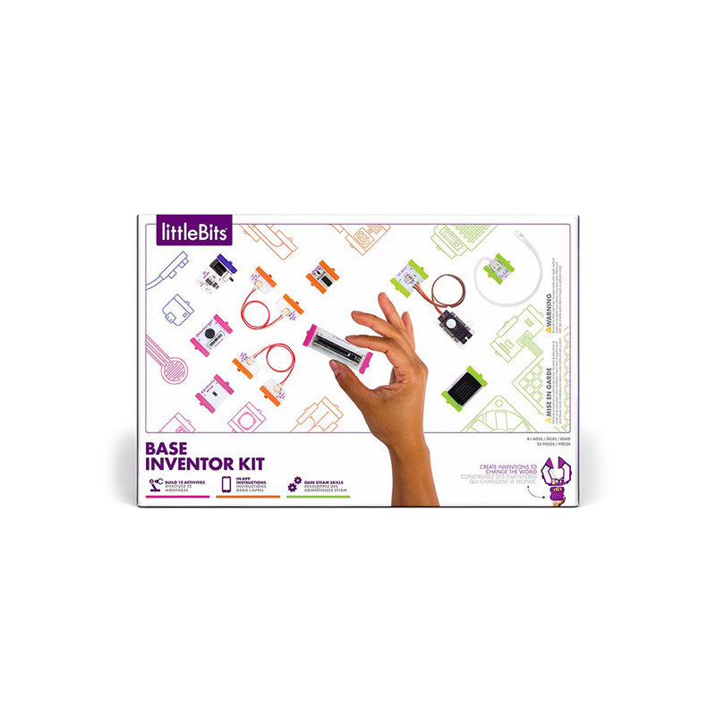 littleBits Base Inventor Kit package