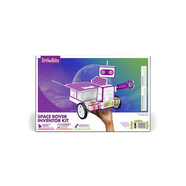 littleBits Space Rover Inventor Kit package.