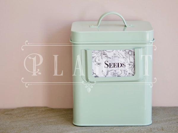 Seed Tin & Organic Herb Seeds