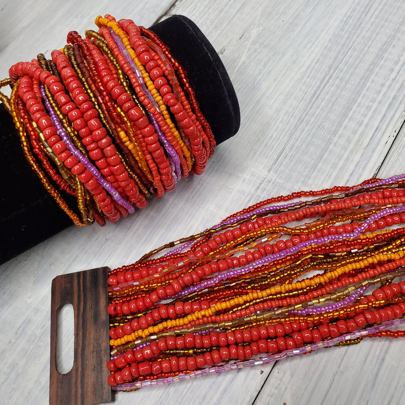 Bali Beaded Bracelets - 4 Colors