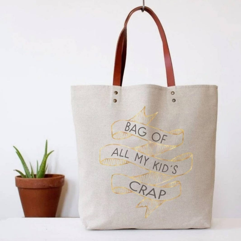 Bag Of All My Kids Crap Tote Bag