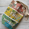 See the World Canvas Tote Bag