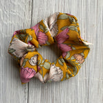 Floral Print Scrunchies - 3 Colors