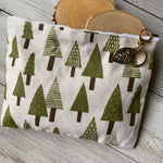 Forest Carryall Cosmetic Bag