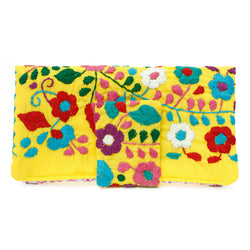 Chantel Mexican Wallet Yellow