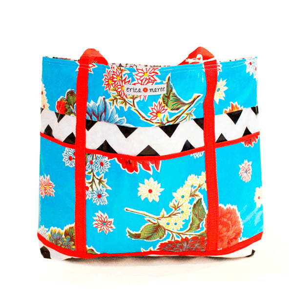 Oilcloth Travel Bags
