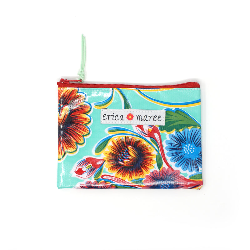 Coin Pouches in Big Floral