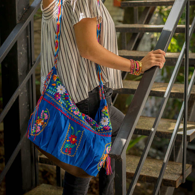 Bohemian Embroidered Crossbody Purse