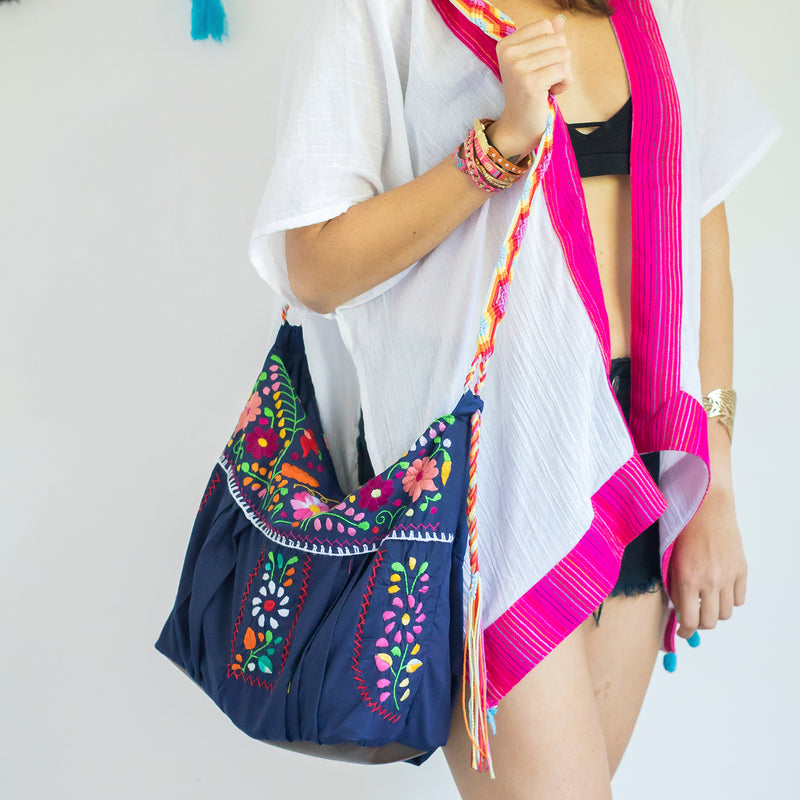 bohemian crossbody handbag