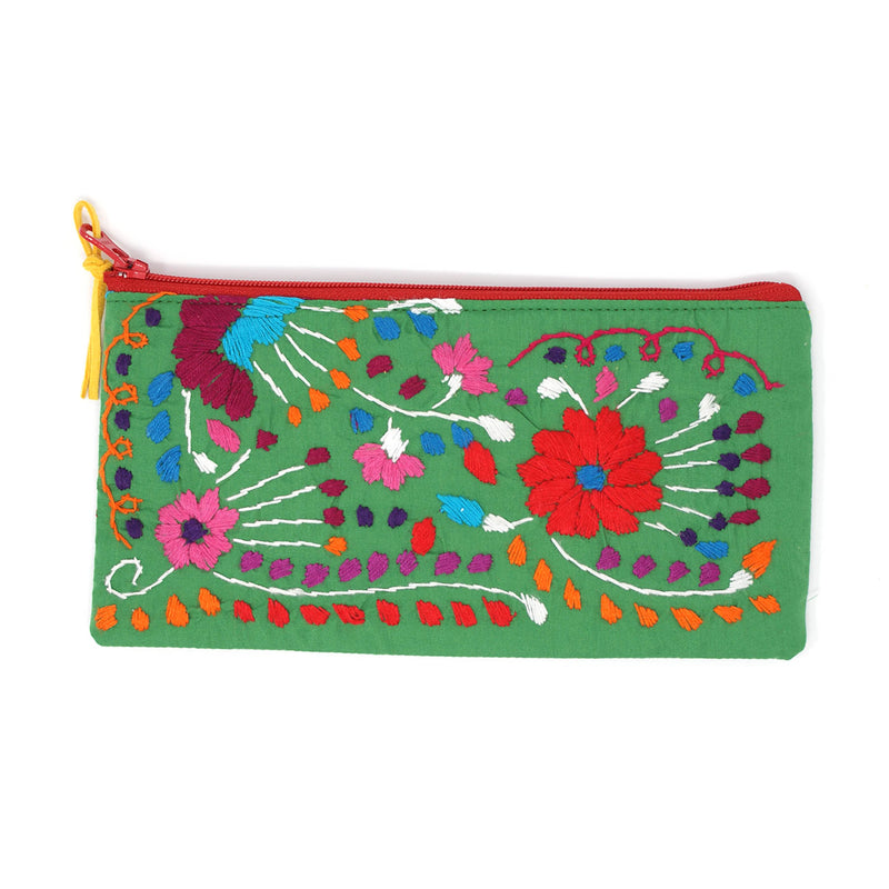 mexican pouch green