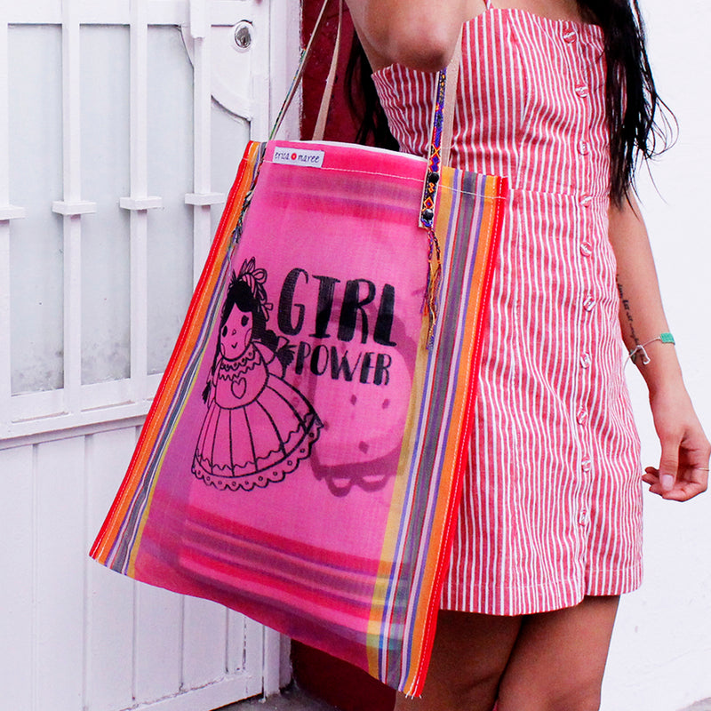 Girl Tote in Pink