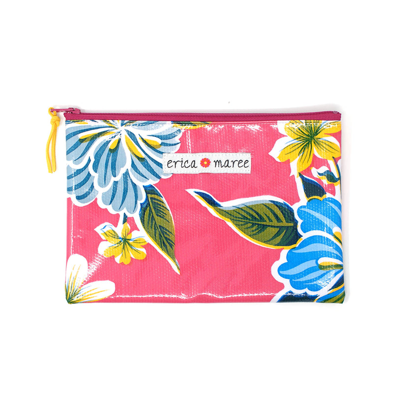 Oilcloth Medium Wallet Big Florals