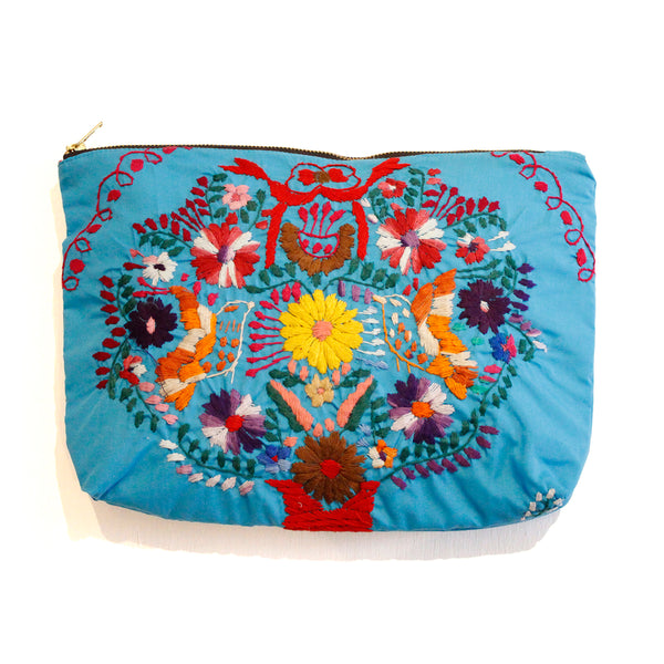 Michelle Clutch Turquoise