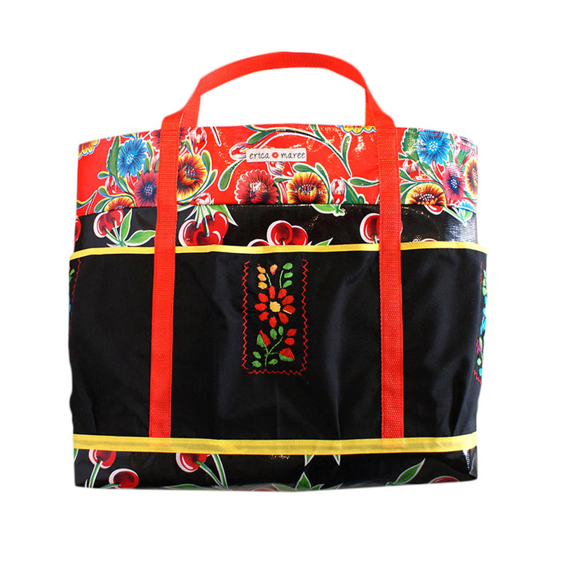 mexican tablecloth bag