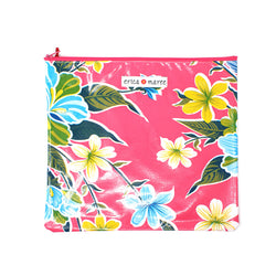 Oilcloth Wallet Large Big Floral