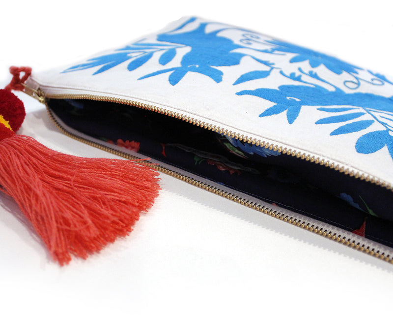 mexican otomi clutch