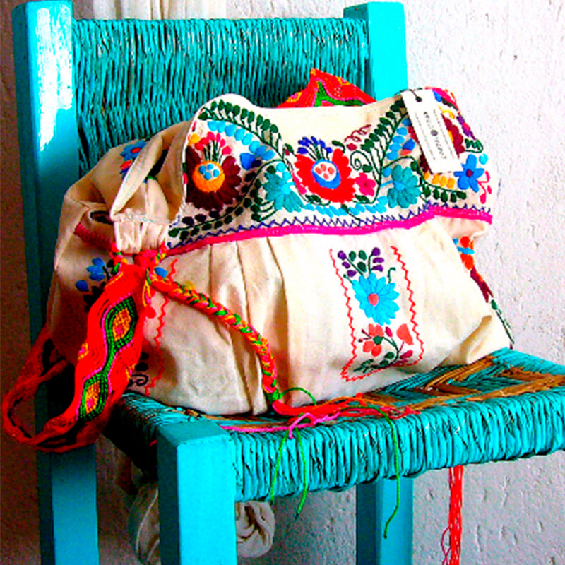 mexican travel purse