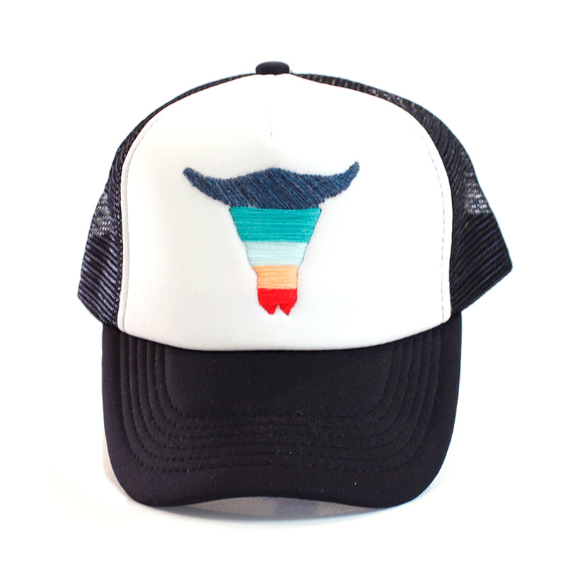 Bull Head Trucker Hat by Edger