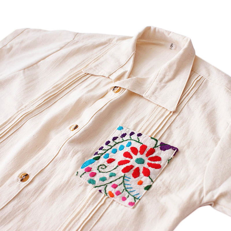 embroidered shirt mexico
