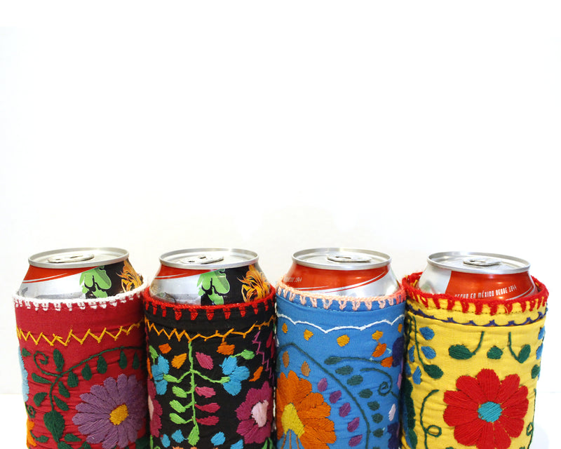 Embroidered MexiKan Koozies