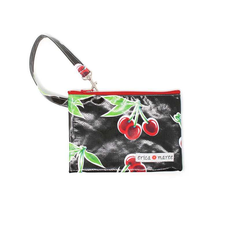 oilcloth pouch