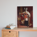 Custom King Renaissance Portrait Canvas - Funny Labrador Cute Shirt Labradors Labs