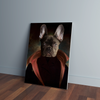 Custom Dracula Portrait Canvas - Funny Labrador Cute Shirt Labradors Labs