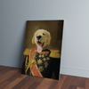 Custom General Renaissance Portrait Canvas - Funny Labrador Cute Shirt Labradors Labs