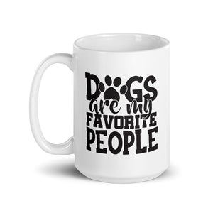 Dogs Are My Favorite People Funny Mug - Funny Labrador Cute Shirt Labradors Labs