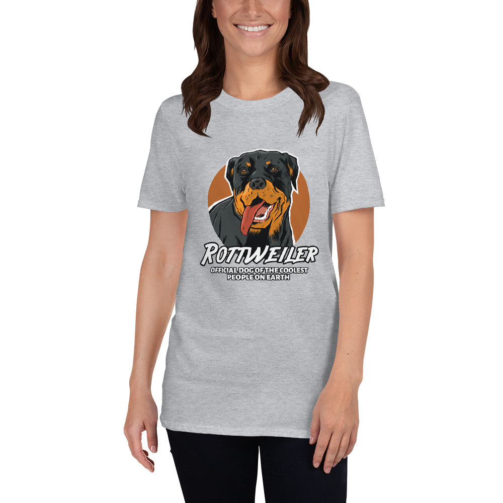 Rottweiler, Official Dog Of The Coolest People Shirt - Funny Labrador Cute Shirt Labradors Labs
