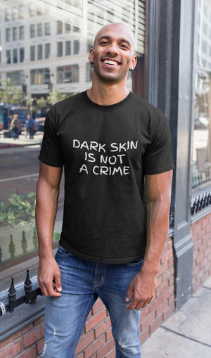 Dark Skin Is Not A Crime Black Lives Matter Shirt - Funny Labrador Cute Shirt Labradors Labs