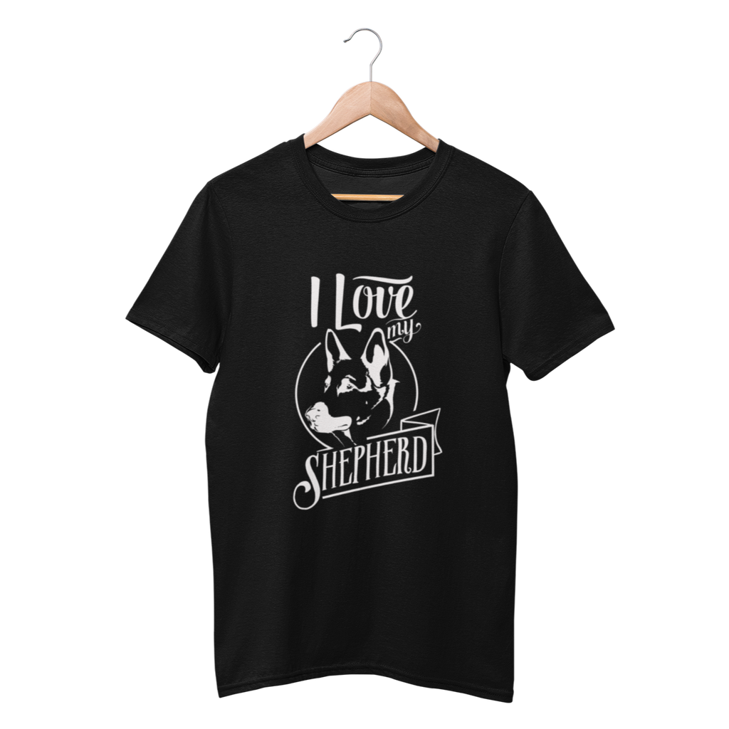 I Love My German Shepherd Shirt - Funny Labrador Cute Shirt Labradors Labs