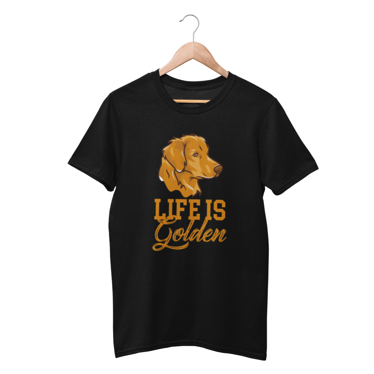Life Is Golden Retriever Shirt - Funny Labrador Cute Shirt Labradors Labs