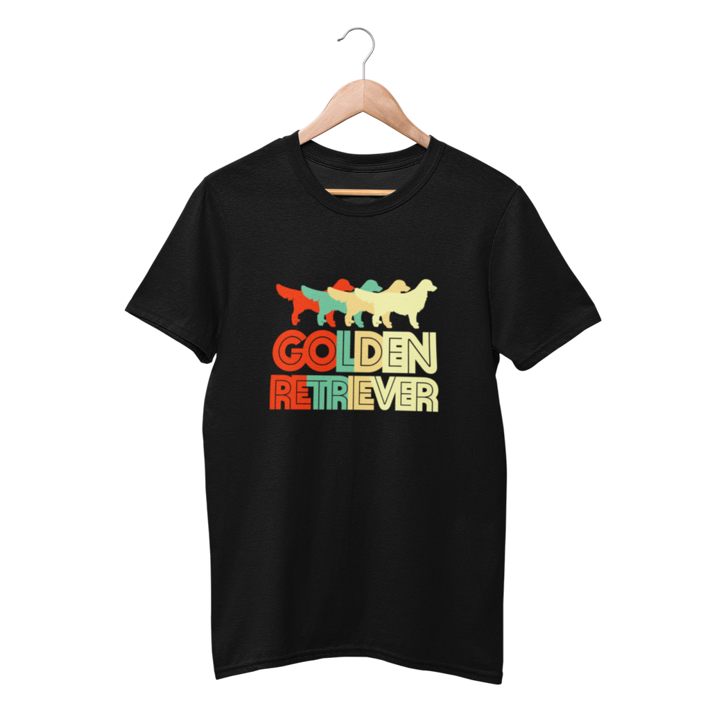 Retro Golden retriever Shirt - Funny Labrador Cute Shirt Labradors Labs