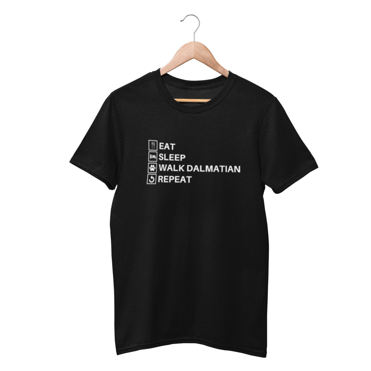 Eat, Sleep, Walk Dalmatian & Repeat Shirt - Funny Labrador Cute Shirt Labradors Labs