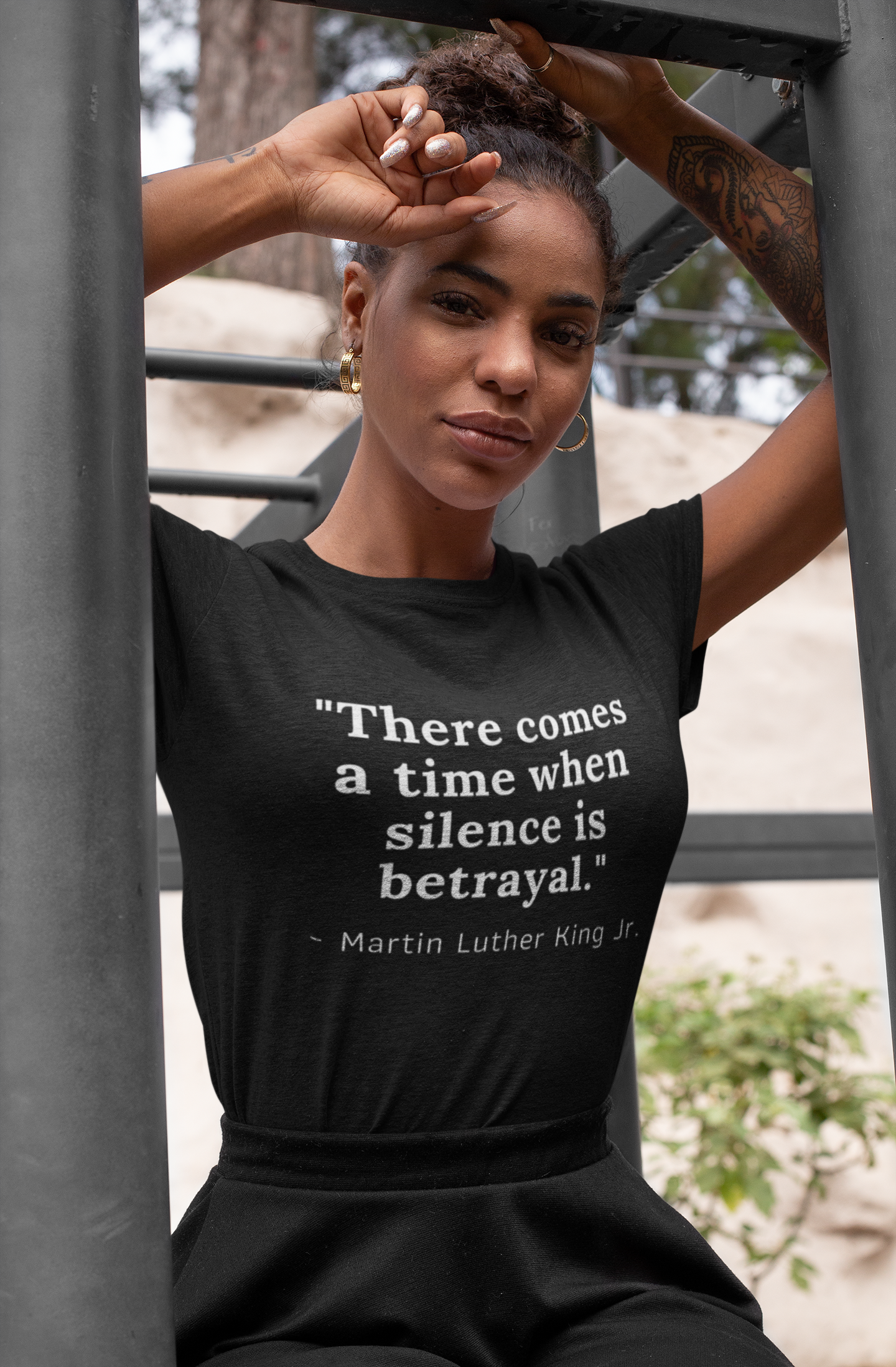 There Comes A Time When Silence Is Betrayal Martin Luther King Jr. Quote Black Lives Matter Shirt - Funny Labrador Cute Shirt Labradors Labs
