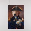 Custom Captain Poster - Funny Labrador Cute Shirt Labradors Labs