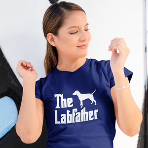 The Labfather Funny Shirt - Funny Labrador Cute Shirt Labradors Labs