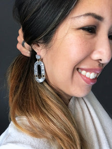 Arch Earrings - Black
