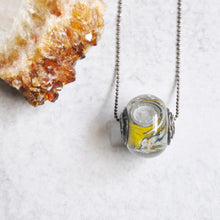 Load image into Gallery viewer, Tornado Glass Necklace No. 3
