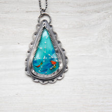Load image into Gallery viewer, Little Birdie Teardrop Pendant
