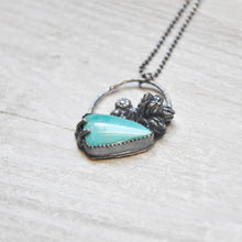 Load image into Gallery viewer, Turquoise Succulent Pendant No. 5
