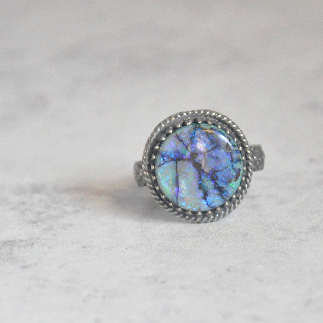 Monarch Opal Ring No. 1 • Size 8 US