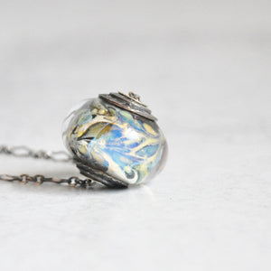 Tornado Glass Necklace No. 1