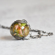 Load image into Gallery viewer, Tornado Glass Necklace No. 2