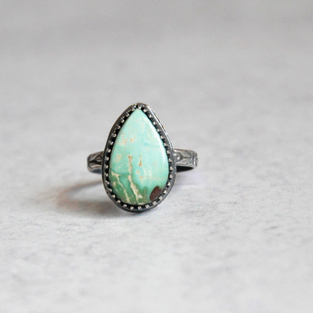 Everyday Turquoise Ring No. 5 • Size 6.75 US